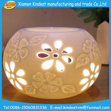 Cusomized logo ceramic cheap candle holder