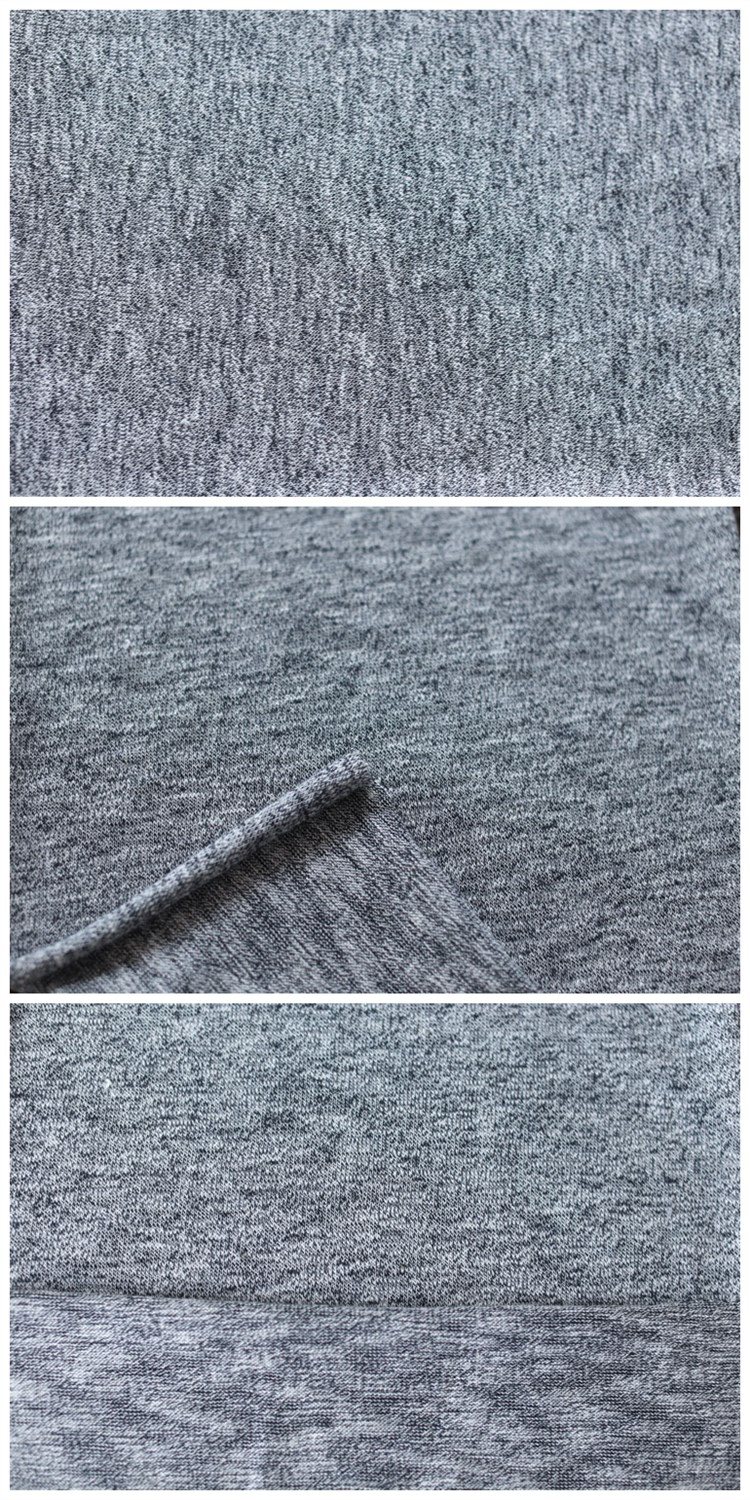 From China Suppliers Plain Polyester Spandex Rayon Coarse Knitting Fabric