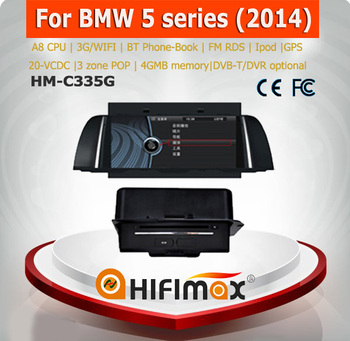 Hifimax WinCe Car DVD Player For BMW 5 Series e60 (2014) wheels with A8 Chipset S100 Platform