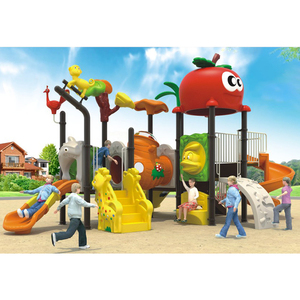 High Quality CE Certificate Children Outdoor Plastic slide Playground Game Toys For Kids