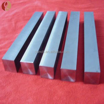 Hot Sale ASTM B348 TC4 GR5 Titanium Alloy Flat Bar and rod in Stock