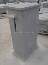 Blue Limestone Postbox Antique Blue Stone Mailbox