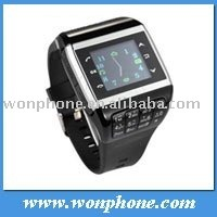 Cheapest Wrist Watch Phone Q5 Quadband Single Sim Card