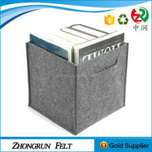 Wholesaler Custom Size And Logo File Organizer Strong Felt Doicument Storage Box For Officer
