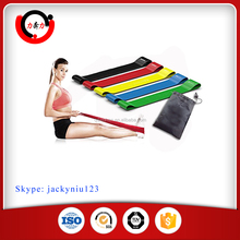 "Highest Quality Athleema Set of 5 Loop Bands 10"" X 2"" the Best Exercise Loop Resistance Bands for Any Wor"