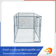customized order 10'*10'*6' chain link box metal wire pet bowl