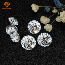 9.0mm 3.0ct Round 8H 8A loose gem stone beeds moissanite for diamond rings