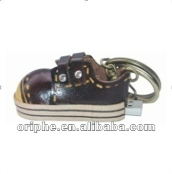 leather shoe usb drive