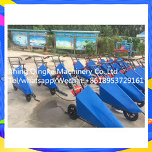Gasoline soybean cutting and harvesting machine with high efficiency