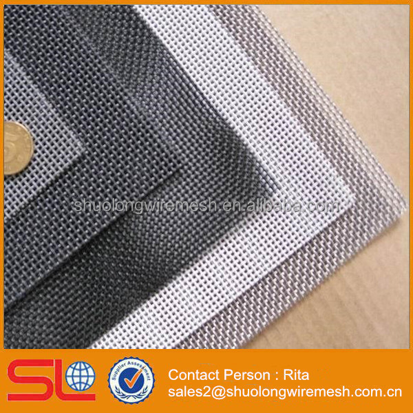 11 Mesh x 0.8mm Folding Stainless Steel Security Window Screen