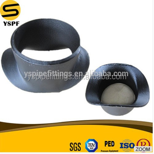 High Class Gi Oil and gas pipe end Butt Welding pipe fitting carbon steel pipe saddle ASTM A234 WPB WPHY70