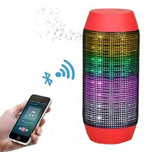 2017 New Product Pulse Wireless Bluetooth Speaker Pulse Wireless Bluetooth Speaker with Dynamic Glow LED Lights