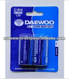 Daewoo Carton Zinc C Size Heavy Duty Primary Battery