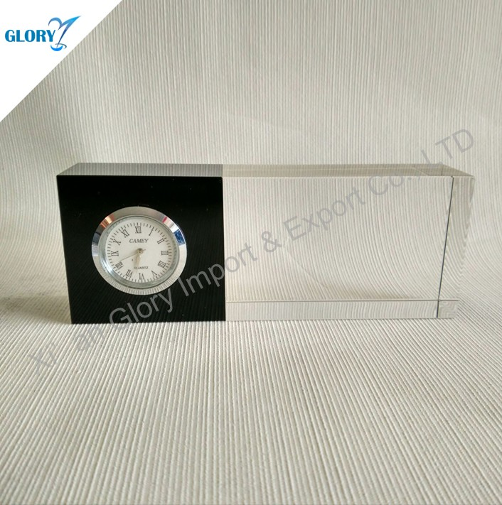 Wholesale Executive Small Crystal Desk Clock