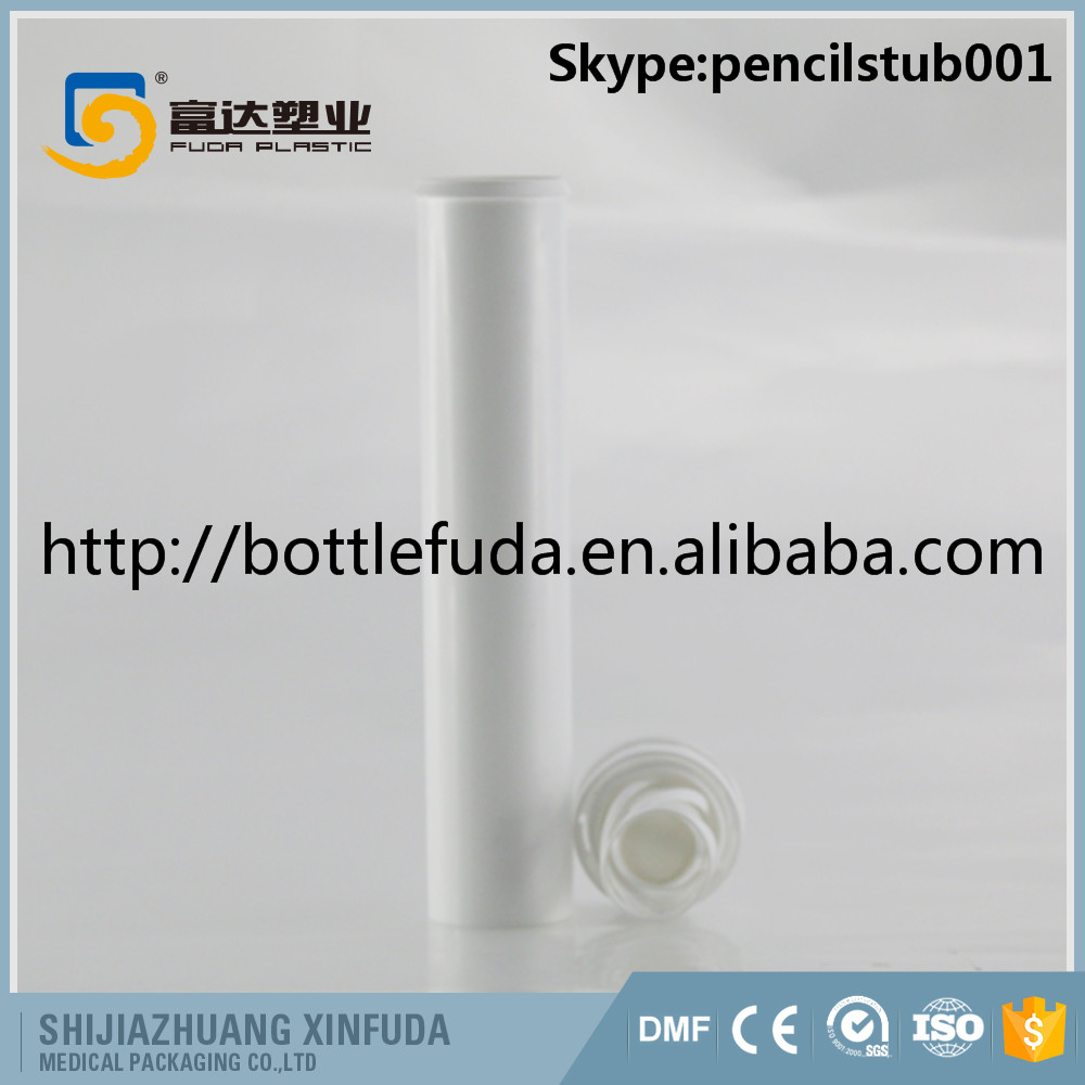 pill HDPE plastic pharmaceutical effervescent tablet tube with scrow cap food grade