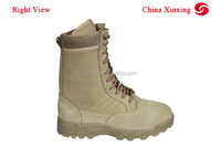 CHINA XINXING High Quality Hot Selling Military Army Tactical Desert Khaki Boots
