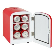Mini Fridge Electric Cooler and Warmer 4 Liter / 6 Can Fridges