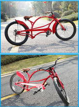 24 Inch Carbon Steel Specalized Beach Cruiser Bike Chopper Bicycle