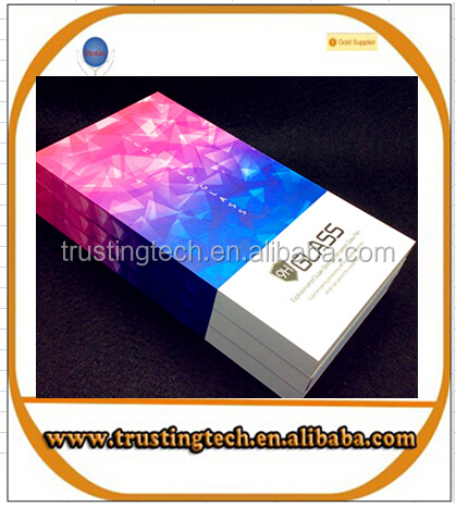new hotselling tempered glass packing box retail package box for S7edge
