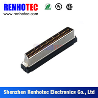 d-sub solder scsi CN 68pin male connector