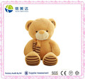 Plush Custom Soft Big Brown Cute Teddy bear toy