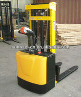 PWS 1TON 3METER Electrical Fork Lift For Lifting pallet(CE Certificate)