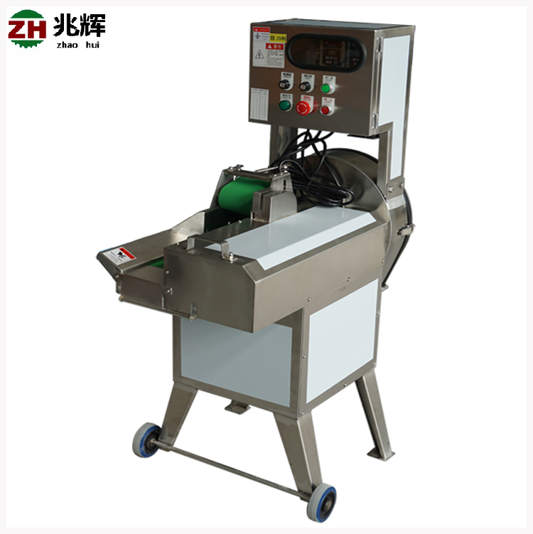 Automatic commercial fruit and vegetable cutting machine