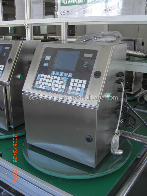 Automatic pvc pipe inkjet printer machine