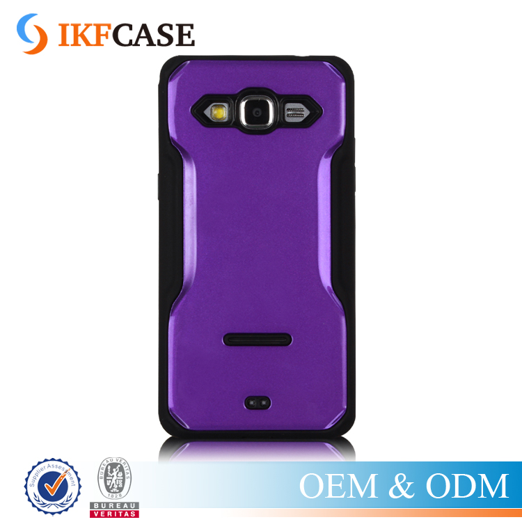 Shock Proof Hybrid Armor Stand Case TPU+PC Hard Cover for Samsung Galaxy Grand Prime G530 G530H