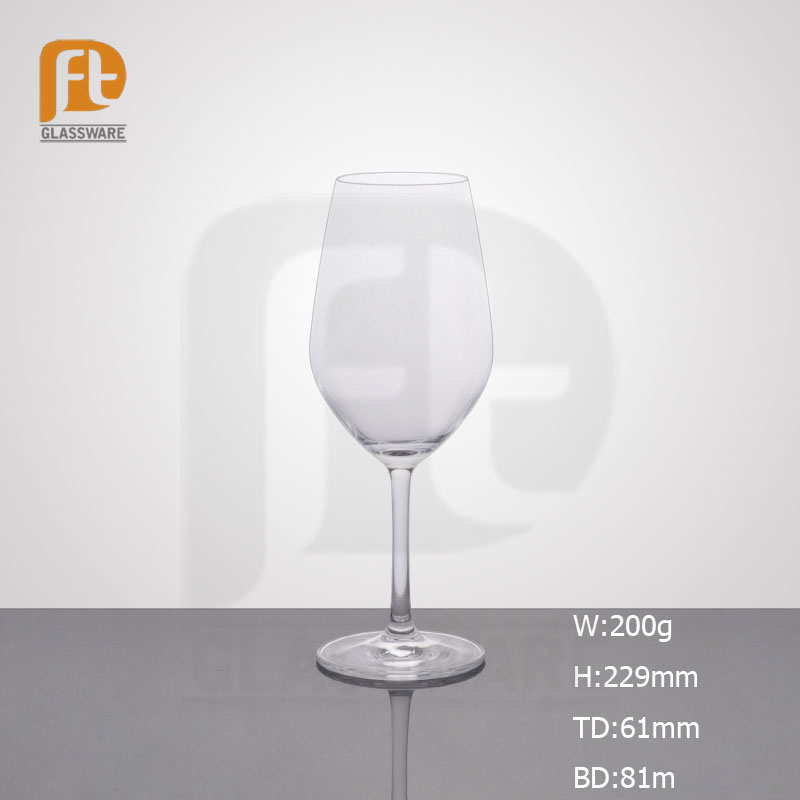 Elegant lead free brand design crystal wine glass/goblet red wine glass