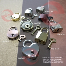 quality wholesale custom logo metal TSA Lock