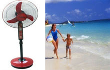 STAND FAN WITH BATTERY AND LED LIGHT 3 speed timer Function with led light Oscillating cheap price Pakistan/egypt/Nigeria