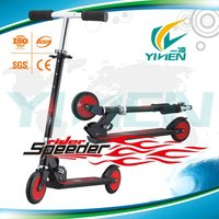 2013 Hot Sale Folding Kick Scooter with 125mm PU wheels