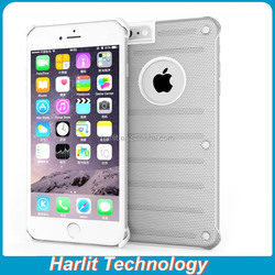 For iPhone 6 Plus Aluminum Alloy Metal Case With Radiating Net Dots
