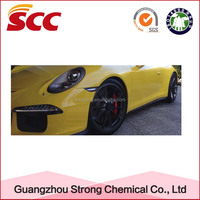 Yellow resistance hi gloss car cleaning product