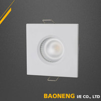 Special Frame Design Aluminum Allloy IP44 COB Gu10 LED Spotlight