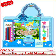 Disney factory audit manufacturer's stationery set punch stapler tape dispenser 149214