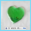 Green heart shape reusable heat packs(Manufacture With CE,MSDS)