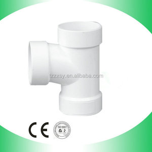 ASTM D2665 pvc pipe tee joints for water