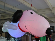 2015 giant/large inflatable snoopy, inflatable snoopy dog replica