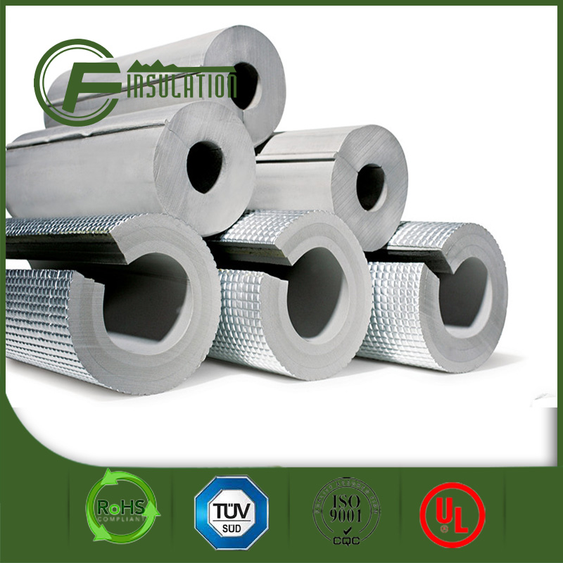 Isolated PE Foam,Thermal Insulation PE Foam Tube,Close Cell Foam insulation pipe with aluminum foil