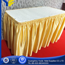 100% Polyester new style Twill plastic table cover industrial