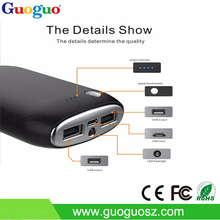 Travel products LED lightings power bank external battery,10000mah power bank, cell phone power charger