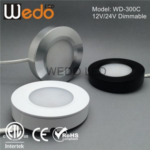 3W LED Furniture Light ETL 6000K 3W LED puck light for Car House Lighting solutions