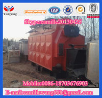 2014 hot sale in Pakistan DZH series wood fired boiler
