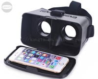 2016 Google Cardboard Version 3D VR Glasses Virtual Reality DIY 3D VR Video Movie Game Glasses Head Mount with Headband