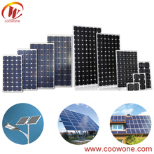 High Efficiency Surplus solar panel for 1000 watt solar system