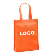Custom Puff silk printing non woven bag Popular Non-Woven Tote Reusable Shopping Bags