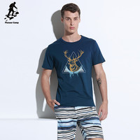 Best selling polyester sublimation deer print t shirt