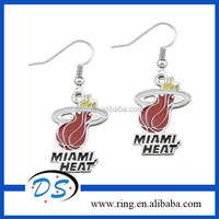 Miami Heat Logo Alibaba Wholesale Diy Heat Earring